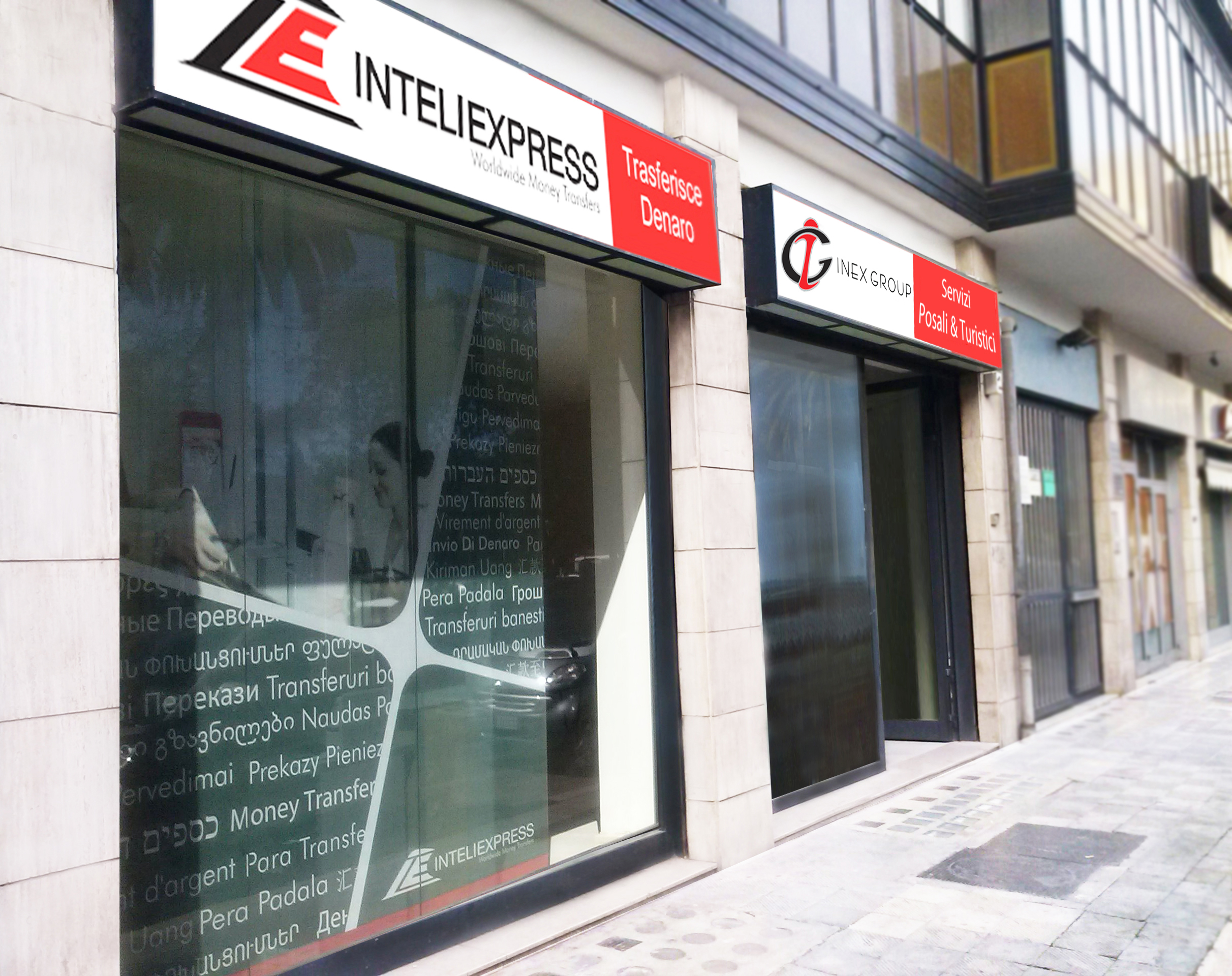 New Branch In Italy Inteliexpress