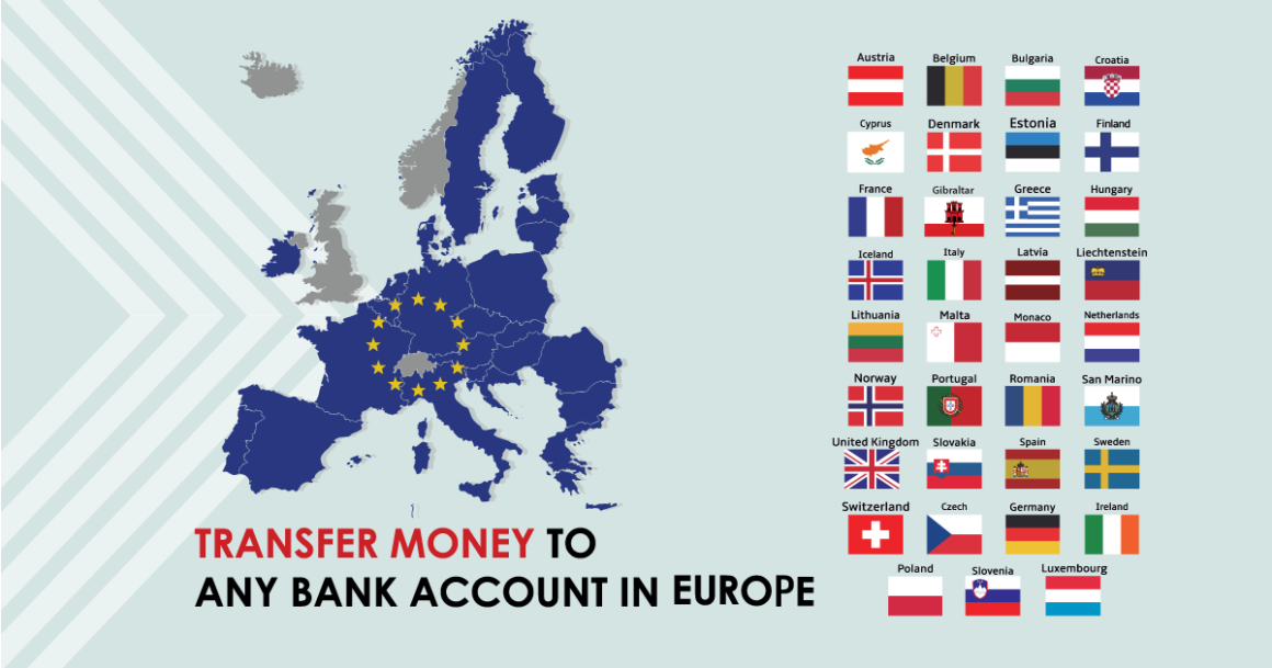 Fast and affordable money transfers from Georgia to any bank account in Europe